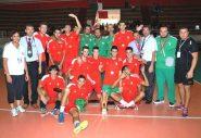 المنتخب الجزائري يظفر بلقب الدورة الثالثة عشرة للبطولة العربية للكرة الطائرة لمنتخبات الفتيان