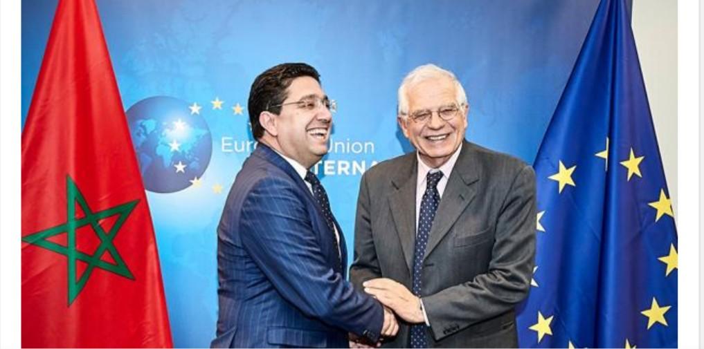 """بوريل وبوريطة يلتزمان بتعزيز """"الشراكة الأوروبية-المغربية من أجل رفاه مشترك"""""""