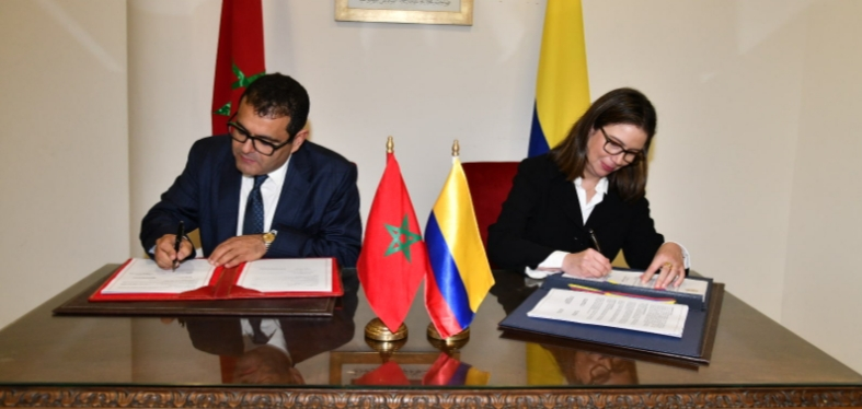 كولومبيا تجدد دعمها لمغربية الصحراء وتعتبر المملكة شريكا استراتيجيا