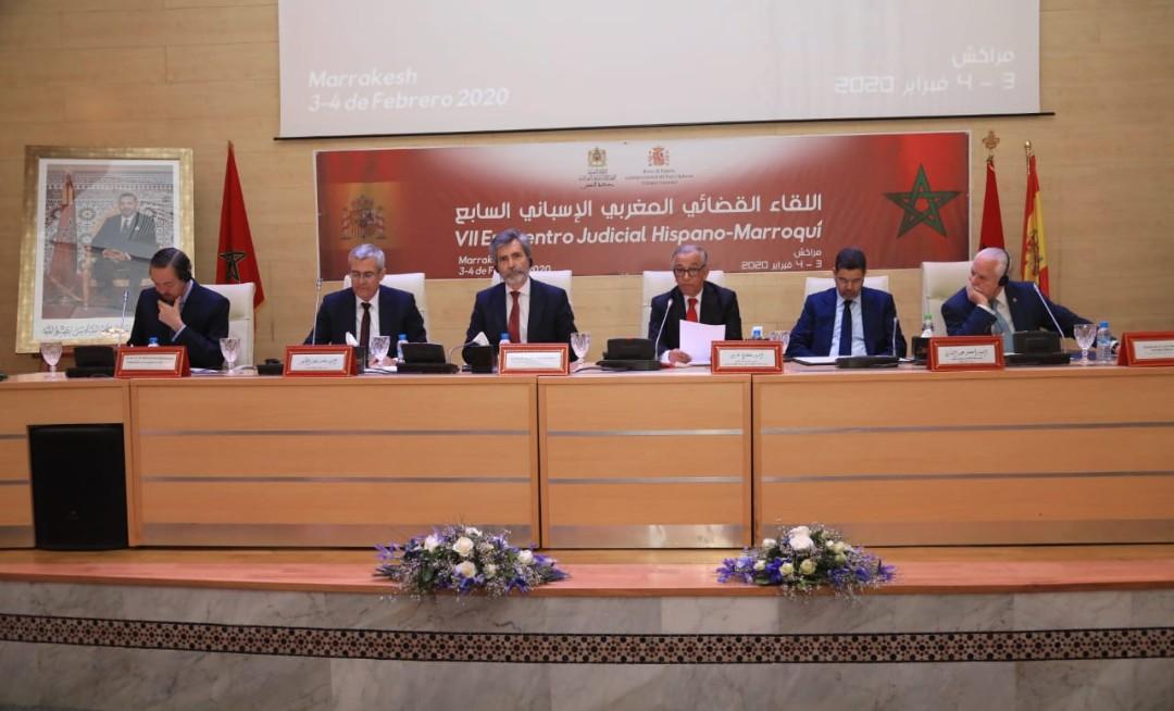 مراكش : مسؤولين قضائيين إسبان يشيدون بالتجربة القضائية المغربية