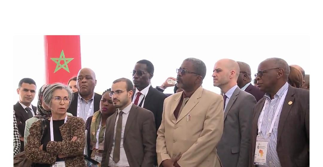 وفد إفريقي من مسؤولي مؤسسات سجنية يزور السجن المحلي بتيفلت