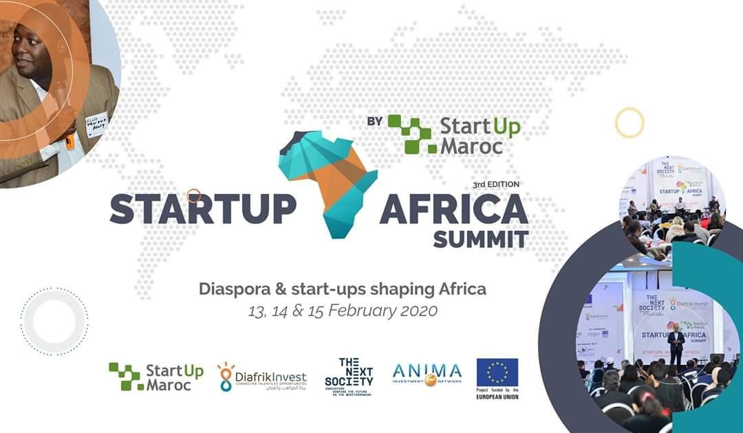 """الرباط تحتضن الدورة الثالثة للقمة الإفريقية للمؤسسات الناشئة StartUp Africa Summit"""" 2020 """"من 13 إلى 15 فبراير الجاري."""