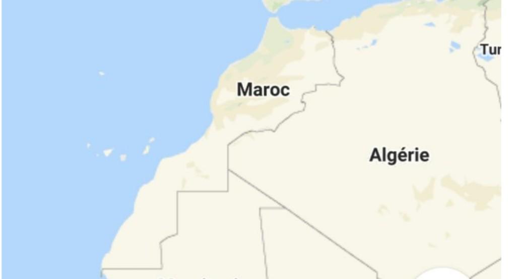 غوغل يحذف نهائياً الخط الوهمي ويعترف بمغربية الصحراء