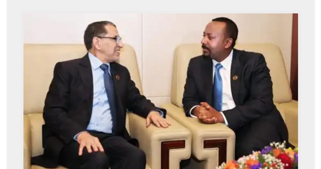 رئيس الحكومة يجري بأديس أبابا محادثات مع نظيره الإثيوبي