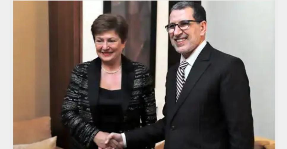 المديرة العامة لصندوق النقد الدولي تشيد بالأوراش الإصلاحية التي باشرها المغرب