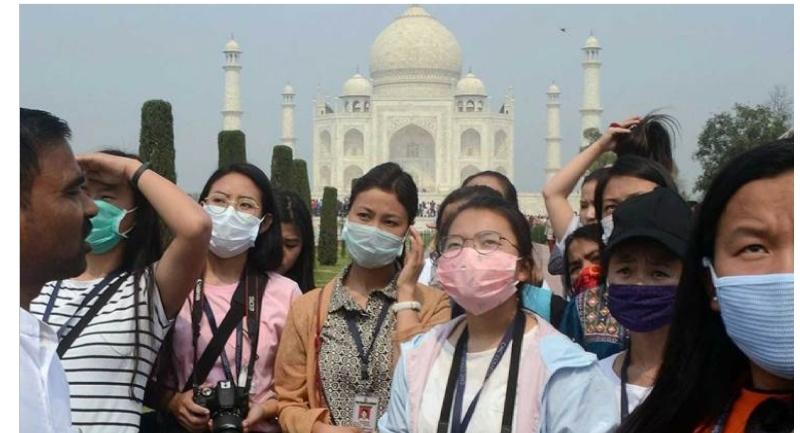 فيروس كورونا المستجد يباغث الهند ويخلف 126 حالة اصابة مؤكدة منها ثلاثة قتلى